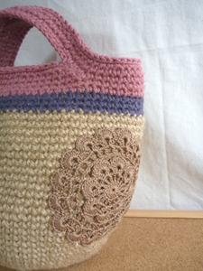 レース編みドイリー