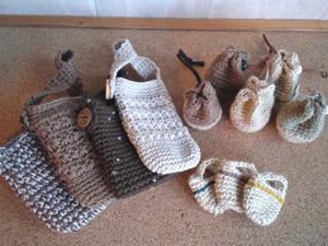 編み小物類いろいろ